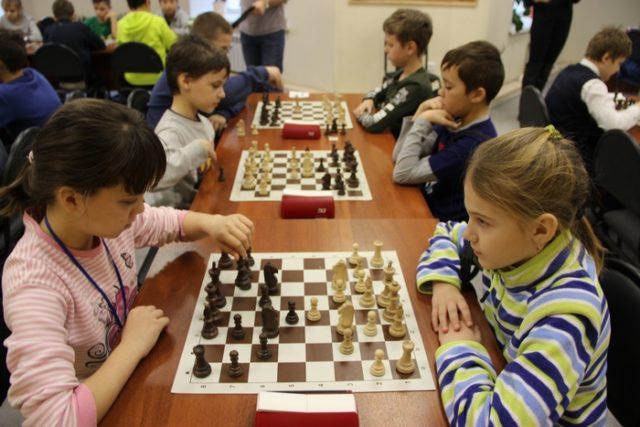 Первенство города по шахматам