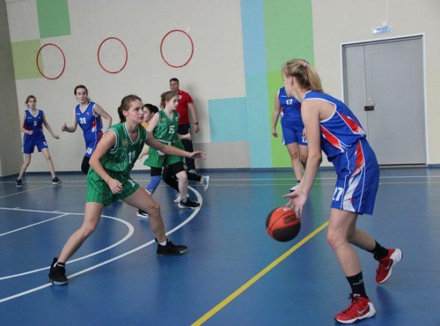 Первенство города по баскетболу