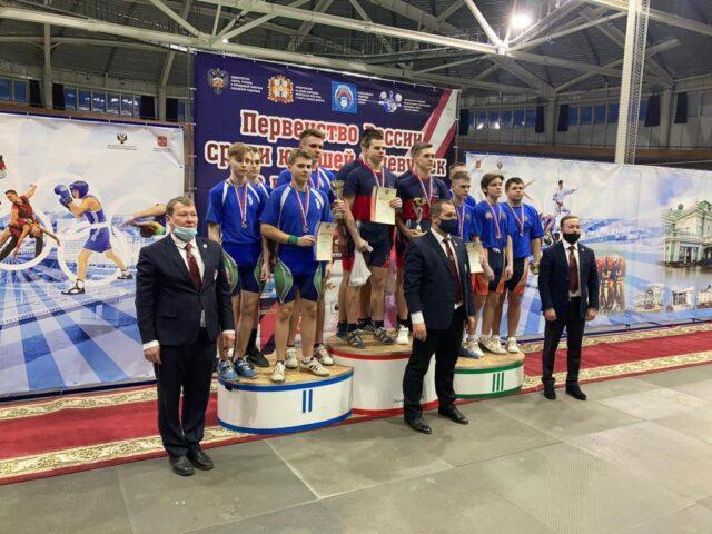 Первенство России по гиревому спорту
