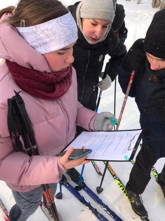 Игры по лыжному ориентированию «ФОТОМИД»